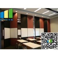 restaurant Fabric Wall White Bi Fold Internal Doors 30 -  48 Inch Width