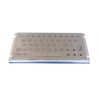 Buy cheap 2021 new Vandal proof and mini size ruggedized keyboard with 47keys from wholesalers