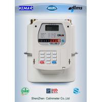 Buy cheap Mobile payment M-PESA  Prepayment Gas Meter Diaphragm Type 5 year above battery life product