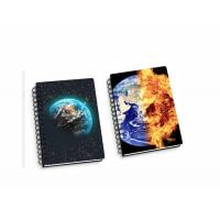 Buy cheap Lenticular PP / PET 45 Sheets 3D Flip Notebook A4 / A5 / A6 Size Plastic Hard Cover product