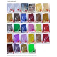 Buy cheap 0.8mm-6mm silver colored acrylic mirror sheets for decoration product