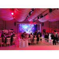 Buy cheap Wedding Stage Decoration Led Full Color Display Screen For Exhibition , Ultra Thin product