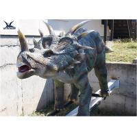 Buy cheap Mechanical Playground Animatronic Life Size Dinosaur Decoration Equipment Model product