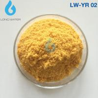 YR 02 Roller Yellow Polyaluminium Chloride Powder flocculant polymer pac 30% For Waste Water Treatment