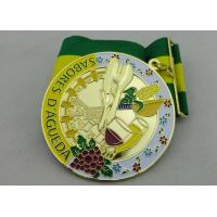 Buy cheap 3D SABORES Ribbon Medals, Die Casting, High 3D and High Polishing for Souvenir Gift product