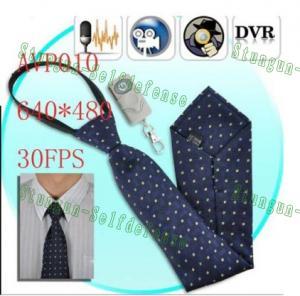Buy cheap Hidden Neck Tie Camera /spy camera/Video DVR/video surveillance cameras from wholesalers