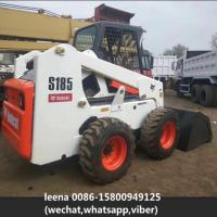 Buy cheap 2014 Used Bobcat Skid Steer Loaders S185 / Second Hand Wheel Loaders Usa Made product