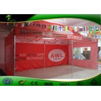 Buy cheap Red Trade Show Event Advertise Aluminum Folding Outdoor Canopy Tent 3X6m product