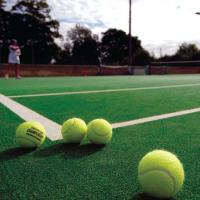 Buy cheap 15mm Artificial Grass Tennis Court Volleyball Area Support Environmental product