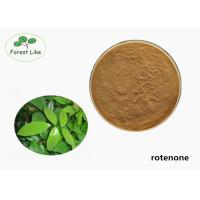Buy cheap Natural Derris Root Extract Rotenone Powder 40% Rotenone Bio Insecticide from wholesalers