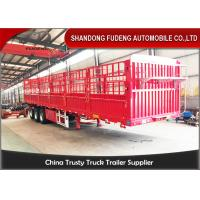 China Customized 40ft flatbed drop side wall semi trailer for sale in Africa on sale