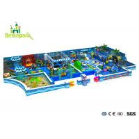 Buy cheap Customized Toddler Indoor Playground , Fun Play Indoor Playground With Galvanized Pipe product