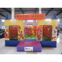 Buy cheap Attractive Animal Theme Inflatable Castle  Mini Jumper Bouncer Small Jumping Castle for Kids from wholesalers