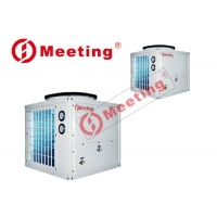 Buy cheap Meeting 3P-EVI 380V/60Hz Air to water heat pump outdoor installation for low ambient temperature -25C product
