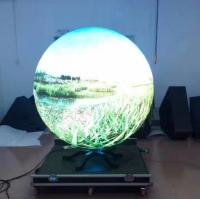 Buy cheap P4 SMD Curved Led Display High Definition Video Ball in the Museum product