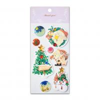 Buy cheap New Christmas Jewel Handmade 3D Stickers With Epoxy Glitter Effect Seasonal Promotion 2017 from wholesalers