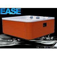 Buy cheap Portable Hot Tub Whirlpool Massage Bathtub Outdoor Spa with 6 Seats,Plastic Jet Ring Trim product