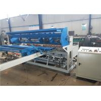 Buy cheap Full Automatic Fence Panel Making Machine , Double Wire Fence  Welded Wire Mesh Machine product