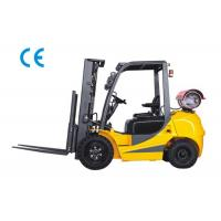 Buy cheap Dual Fuel Four Wheel Forklift 3000kg Capacity With Engine Protection Lock product