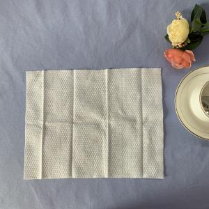 Buy cheap Embossed 100GSM 100% Viscose Single Use Wet Wipes product