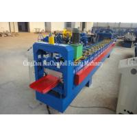 Buy cheap Custom Galvanized Single Roofing Sheet Metal Roll Forming Machine 380V 50Hz 3 Phase product