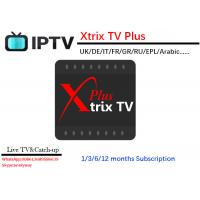 China free test 3 days Xtrix tv Plus APK watch UK,DE,Italia,France,Greece Turkey,CyprusRussia Channels support 7 Days Catch up on sale