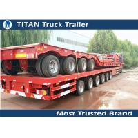 Buy cheap Hydraulic Extendable Flatbed Trailer product