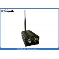Buy cheap Zero Delay Analog Video Transmitter with 5W Long Range Wireless Link Surveillance from wholesalers