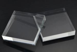 Buy cheap Optical Grade Acrylic Light Guide Plate Transparent Color Unique Clear Thick Designer product