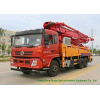 China  DFAC King Run35m -38m Truck Mounted  Concrete Boom Pump Truck Euro 5 on sale