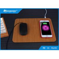 Buy cheap Multi Function Wireless Fast Charger With Mouse Pad Design , Wireless Charging Pad from wholesalers
