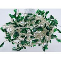 Buy cheap AA Battery Operated USB LED Fairy Lights 120 Green Christmas Tree Shaped product