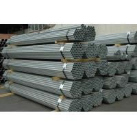 Buy cheap Q215 Round Hot Dipped Galvanized Steel Pipe EN10296 EN10025 For Construction product