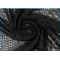 China Black See Through DRI-TEK Performance Powernet Fabric for Cheerleading Cloth on sale