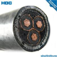 Buy cheap 11KV voltage copper XLPE SWA/STA armoured cable 3 core 185 sq mm product