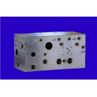 Buy cheap Carbon steel Material CNC machining parts , Hydraulic control valve block from wholesalers