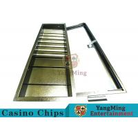 Buy cheap Easy Operate Poker Chip Rack / Poker Table Chip Tray With Single Lock Encryption from wholesalers