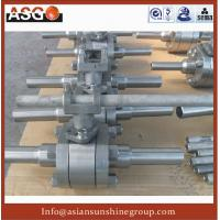 Buy cheap Manul Butt Weld Ansi 2000# F316 Hard Seal Ball Valve For Water oil Pipe product