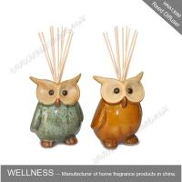 Cute colorful animal shaped ceramic reed diffuser for home decoration