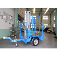 Buy cheap Single Mast Truck Mounted Aerial Lift Hydraulic Aluminium Alloy Aerial Work Platform product