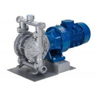 Buy cheap Electric diaphragm pump with motor | aluminum alloy housing DN125 for waste water transfer filter press from wholesalers