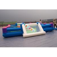 Buy cheap Playground Large Inflatable Football Game /  Inflatable Soccer Field For Rental Business product