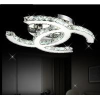 Buy cheap Modern CC design Led crystal Silver crystal Ceiling Lights product