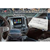 Buy cheap Android 6.0 Multimedia Video Interface for GMC Sierra 2014-2018 Waze Mirrorlink Google from wholesalers