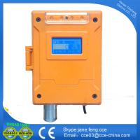fixed online wall-mounted gas alarm detector for oxygen