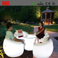 Buy cheap 2016 Hot Selling Whaterproof Furniture LED Glowing Chair For Outdoor Yard Garden Party Club Event Park from wholesalers