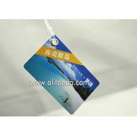 Buy cheap Cheap and easy paper card style hard pvc luggage tag custom and supply with any from wholesalers