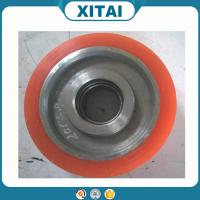 High Quality Factory Supplied Polyurethane Material 95 Shore A urethane solid wheel