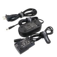 Buy cheap ACK E6 Replacement AC Power Adapter Cable Kit Dummy Battery for Canon EOS Camera from AC Outlet Fully Decoded Smart Chip product