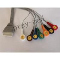 Buy cheap Grey Color ECG Cables And Leadwires IEC Type  With TPU Material SE-2003 from wholesalers